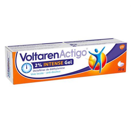 VOLTAREN ACTIGO 2% INTENSE GEL NOVARTIS