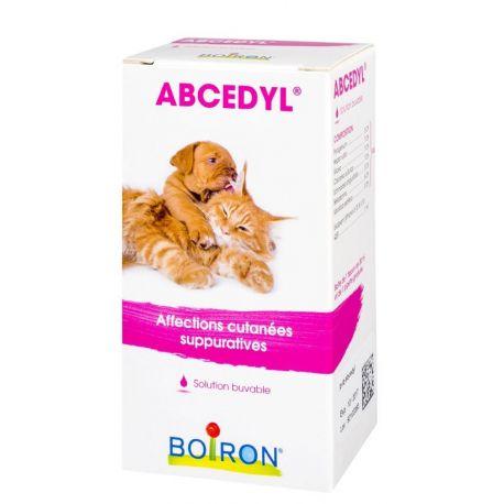 ABCEDYL PA خراجات BOIRON البيطرية المثلية DROP زجاجة مياه الشرب 30 ML