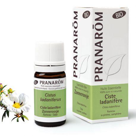 Huile essentielle BIO Ciste ladanifère Cistus ladaniferus PRANAROM 5ml