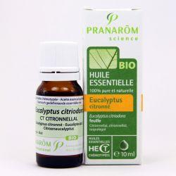 Huile essentielle BIO Eucalyptus citronné PRANAROM 10ml