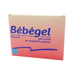 BEBEGEL GEL RECTAL UNIDOSE CONSTIPATION NOURRISSON
