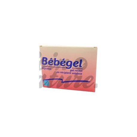 BEBEGEL GEL RECTAL UNIDOSE CONSTIPATION NOURRISSON