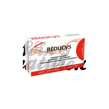 REDUCYS CONFORT URINAIRE PREVENTION CYSTITES 30 GELULES