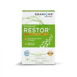 GRANIONS RESTOR ANTI/FATIGUE 60 CAPSULES
