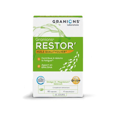 GRANIONS RESTOR ANTI/FATIGUE 60 CAPSULES