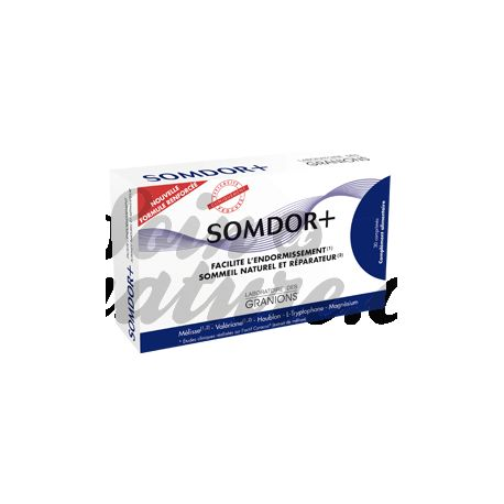 SOMDOR+ ENDORMISSEMENT ET SOMMEIL 30 COMPRIMES