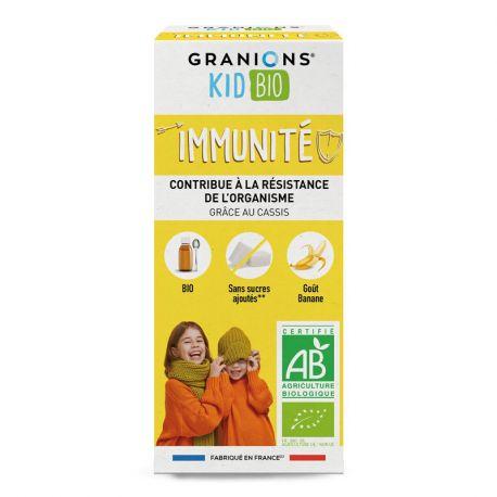 GRANIONS ENFANT STIMULE IMMUNITE GOUT BANANE 125ML