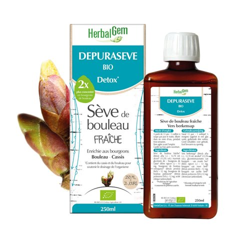 DEPURASEVE BIO SEVE HERBALGEM BIRCH 250ML