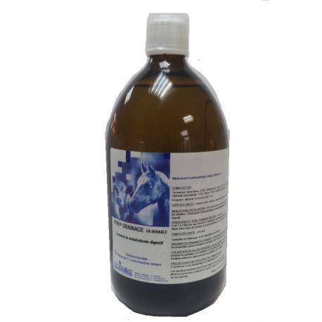 PVB DRAINAGE GA Boiron BOTTLE 1 L (PVB DRAINAGE HEPATIC DRAINAGE SKIN + PVB)