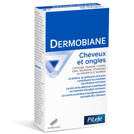 DERMOBIANE CHEVEUX ET ONGLES PILEJE