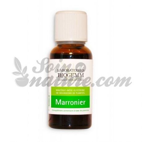 MARRONNIER BOURGEON MACERAT BIO BIOGEMM 30ML