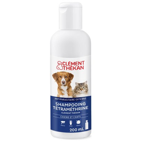 CLEMENT THEKAN SHAMPOO 200ML PEST TMT DOG CHAT