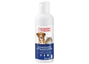 CLEMENT THEKAN SHAMPOOING ANTIPARASITAIRE TMT CHIEN CHAT 200ML