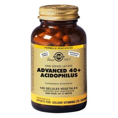Solgar Avançada 40 mais acidophilus 120 cápsulas
