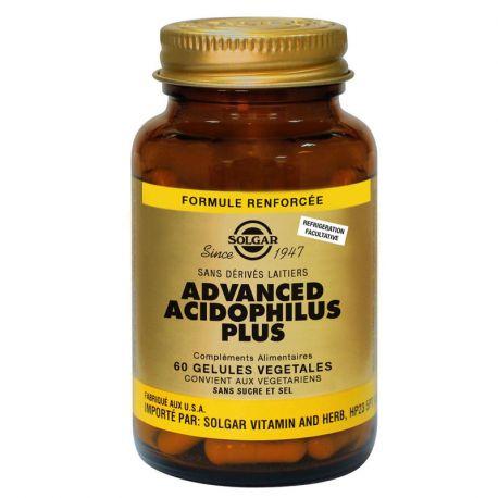 SOLGAR avançada Acidophilus Mais de 60 cápsulas vegetais