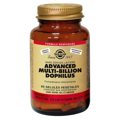Avanzato Multi-Billion SOLGAR Dophilus 60 capsule vegetali