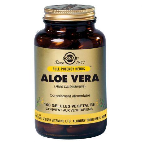 SOLGAR Aloe Vera 100 Gélules Végétales