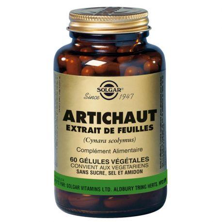 SOLGAR 60 cápsulas vegetales de alcachofa