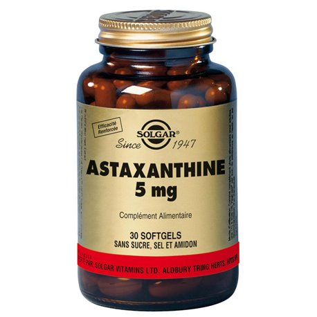 SOLGAR Astaxanthine Complexe Softgels Boite de 30