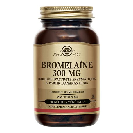 SOLGAR Bromélaïne 500 mg 30 Tablettes