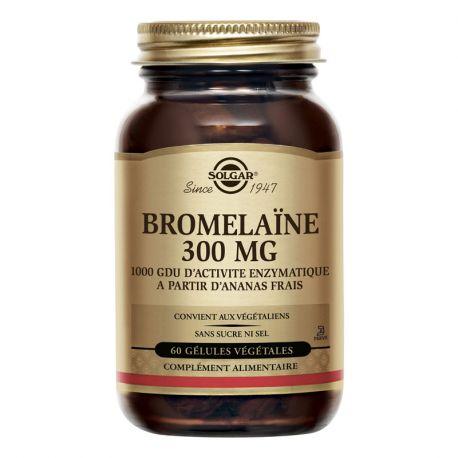 SOLGAR Bromelina 500 mg 30 comprimits