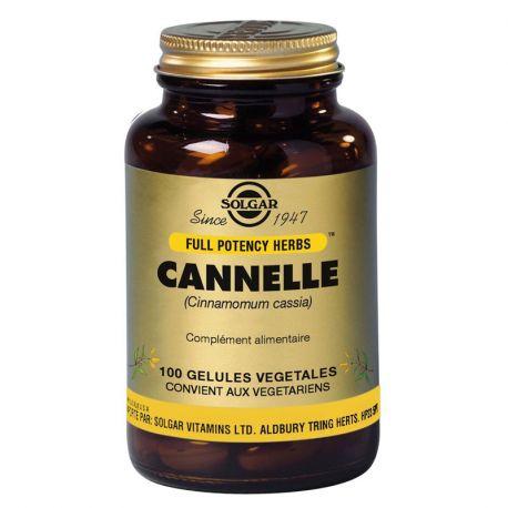 SOLGAR Cannelle Gélules Végétales Boite de 100