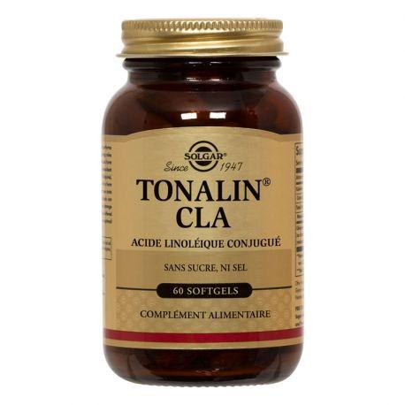 SOLGAR CLA Tonalin 1250 mg cápsulas Caja de 60