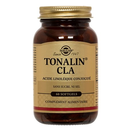 SOLGAR Tonalin CLA 1250mg Softgels Box de 60