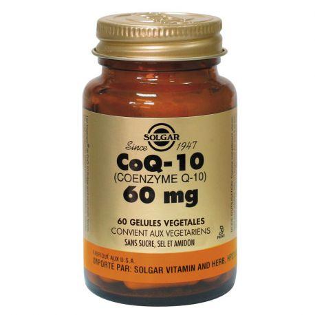 SOLGAR CoQ10 Coenzyme Q10 60mg 30 Gélules Végétales