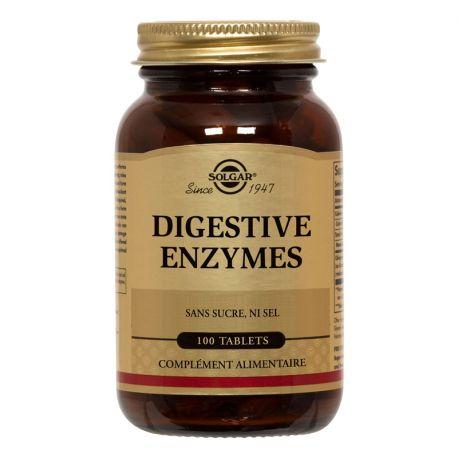 SOLGAR Digestive Enzymes 100 Tablettes