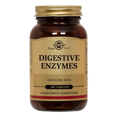 SOLGAR enzimi digestivi 100 compresse