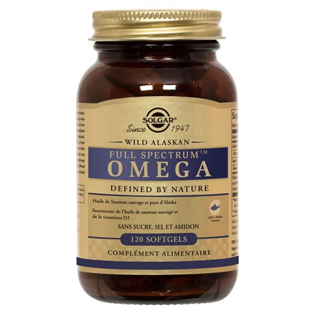 Solgar Full Spectrum Omega 120 Softgels