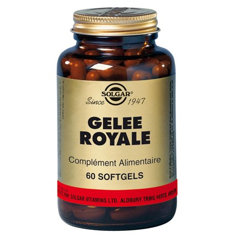 Solgar Geléia Real 60 Softgels
