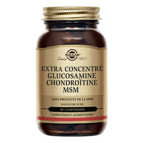 Glucosamina Condroitina MSM SOLGAR 60 Compresse