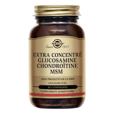 SOLGAR MSM Glucosamina condroitina 60 comprimidos
