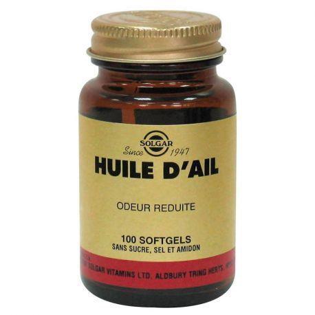 SOLGAR Huile d' Ail (odeur réduite) 100 Softgels