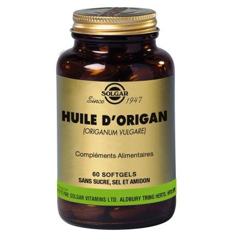 Solgar óleo de orégano 60 Softgels