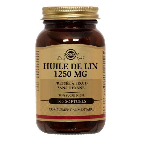 SOLGAR olio di lino 100 capsule