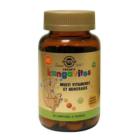 Solgar Kangavites Tropical Flavor 60 Tabletten
