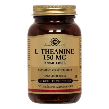 SOLGAR L-teanina 30 capsule vegetali