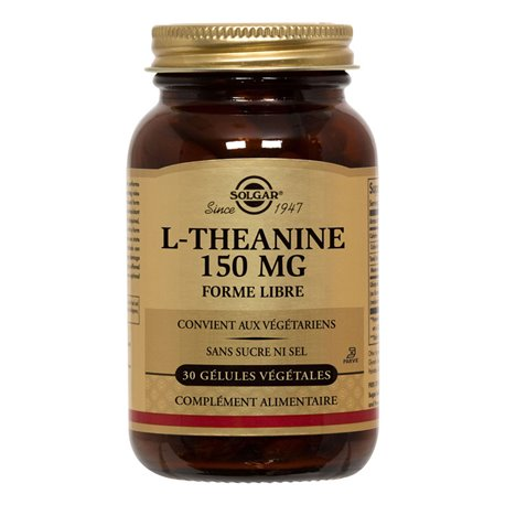 SOLGAR L-Theanine 30 Vegetable Capsules