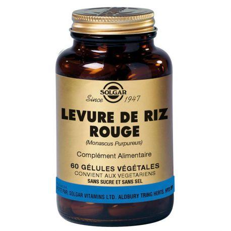 Solgar Red Yeast Rice 60 Plantaardige Capsules