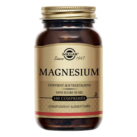 SOLGAR Magnesio aminoácidos quelato 100 Tabletas