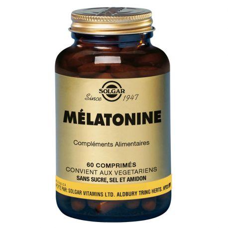 SOLGAR Melatonin 1mg Tabletten Box von 60