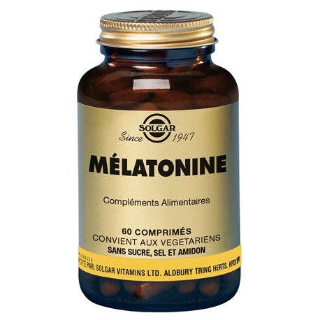 SOLGAR Melatonina 1mg comprimits Caixa de 60