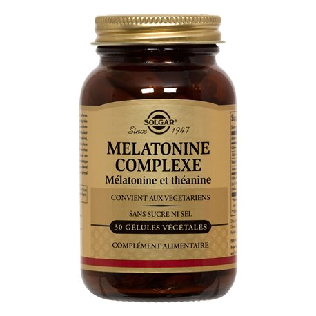 SOLGAR Mélatonine Complexe Boite de 30