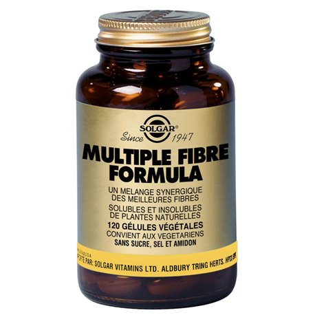 SOLGAR Multiple Fibre Formula Vegetable Capsules Box of 120
