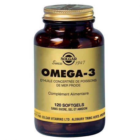 SOLGAR Omega 3700 mg 120 Cápsulas