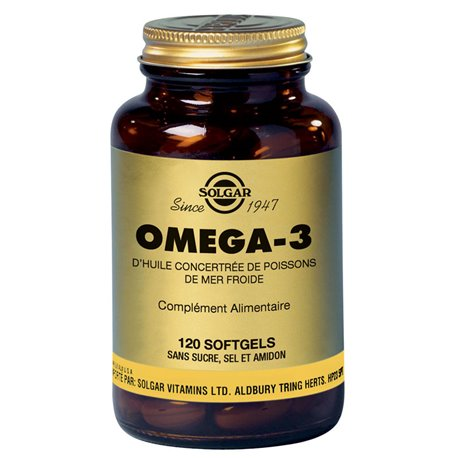 SOLGAR Omega 3700 mg 120 Kapseln