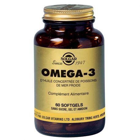 SOLGAR Omega 3700 mg 60 Kapseln